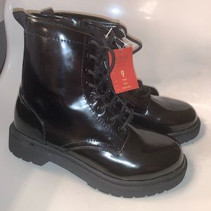 Mossimo Combat Boots NEW
